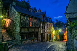 Dinan, Brittany in France