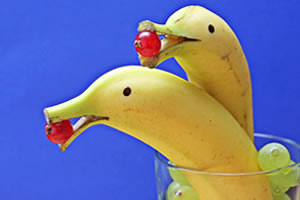 Fruit fun and bananas jigsaw puzzles