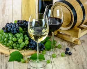 Wine and Grapes Jigsaw