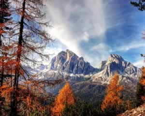 Dolomites mountains jigsaw