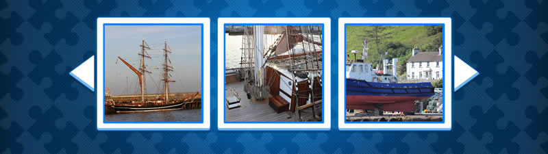 Play Game - Gratuit Puzzle of sailing ship and fishing boats