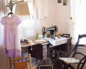 Vintage Sewing Room